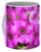 Grouping Of Petunias Coffee Mug