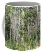 Grove Of Quaking Aspen Aka Quakies Coffee Mug
