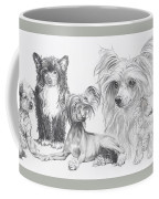Growing Up Chinese Crested And Powderpuff Coffee Mug
