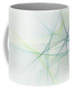 Growth Computer Graphic Line Pattern Coffee Mug