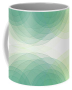 Growth Semi Circle Background Horizontal Coffee Mug