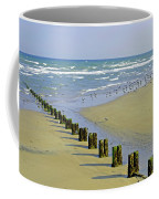 Groyne And Gulls - Bridlington Coffee Mug
