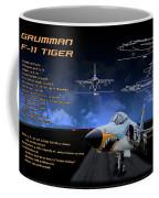 Grumman F-11 Tiger Coffee Mug