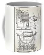 Grundy Typewriter Patent 1889 Coffee Mug
