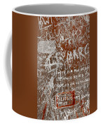 Grunge Background Coffee Mug by Carlos Caetano