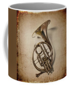 Grunge French Horn Coffee Mug