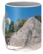 Grupo Nohoch Mul At The Coba Ruins  Coffee Mug