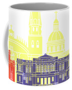 Guadalajara Mx Skyline Pop Coffee Mug