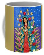 Guadalupe With Stars Coffee Mug