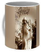 Guardian Angel Bw Coffee Mug