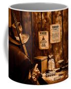 Guarding The Payroll - Sepia Coffee Mug