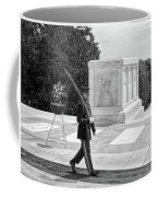 Guarding The Unknown Soldier Coffee Mug