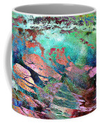 Guided By Intuition - Abstract Art Coffee Mug