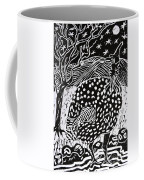 Guinea Fowl Under The Stars Coffee Mug