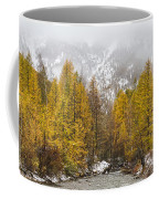 Guisane Valley In Autumn - French Alps Coffee Mug