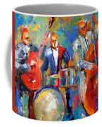 Guitar Drums And Bass Coffee Mug