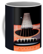 Guitar Orange 19 Coffee Mug