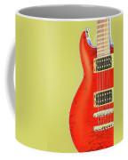 Guitar Pic Coffee Mug