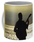 Guitar Silhouette Coffee Mug