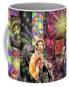 Guitar Watercolor Coffee Mug