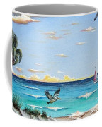 Gulf Beach Pathway Coffee Mug