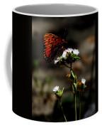 Gulf Fritillary Butterfly Too Coffee Mug