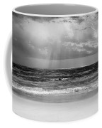 Gulf Of Mexico In Black And White Coffee Mug