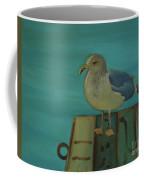 Gull And Ring Coffee Mug