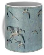Gulls Coffee Mug by James W Johnson