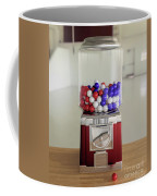 Gumball Red White And Blue Coffee Mug