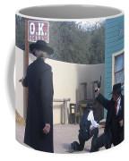 Gunfight Re-enactment O.k. Corral Tombstone Arizona 2004 Coffee Mug