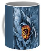 Gunmetal Peony Coffee Mug