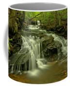 Gushing At Cave Falls Coffee Mug