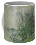 Gustave Loiseau 1865 - 1935 Willows, Edges Oise Or On The Banks Of The Oise Coffee Mug