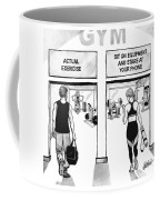 Gym Coffee Mug