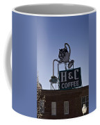 H And C Coffee Sign Roanoke Virginia Coffee Mug