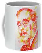 H. G. Wells - Watercolor Portrait Coffee Mug