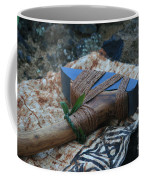 Hafted Hawaiian Adze Wailea Maui Hawaii Coffee Mug