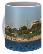 Hagia Sophia And Blue Mosque Coffee Mug