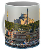 Hagia Sophia On The Bosphorus  Coffee Mug