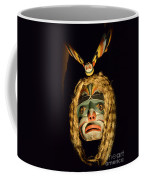 Haida Carved Wooden Mask 4 Coffee Mug