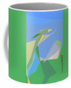 Hailing A Taxi Coffee Mug