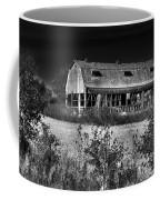 Hainesville Barn B/w Coffee Mug