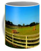 Hale Bales In Late Summer Coffee Mug