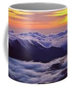 Maui Hawaii Haleakala National Park Golden Dawn Coffee Mug