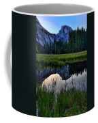 Half Dome At Sunrise Coffee Mug