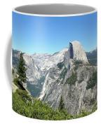 Half Dome From Inspiration Point Coffee Mug