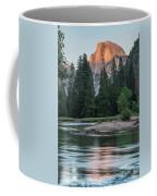 Half Dome In Evening Light Coffee Mug