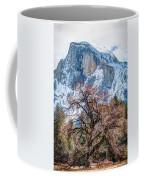 Half Dome Meadow Tree Winter Coffee Mug