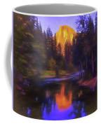 Half Dome Sunset Coffee Mug